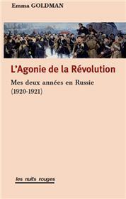 Agonie de la révolution (L´)