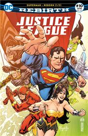"Justice League Rebirth 10 ""Superman reborn"" 1/3"