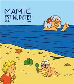 Mamie est nudiste!